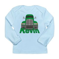 Trucker Kevin Long Sleeve Infant T-Shirt