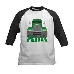 Trucker Kim Kids Baseball Jersey