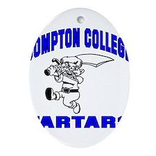 Compton College Ornament (Oval)