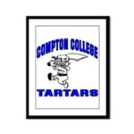 Compton College Framed Panel Print