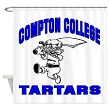 Compton College Shower Curtain