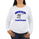Compton College Women's Long Sleeve T-Shirt