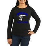 Compton College Women's Long Sleeve Dark T-Shirt