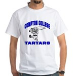 Compton College White T-Shirt