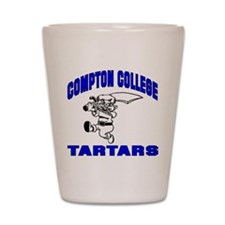 Compton College Shot Glass