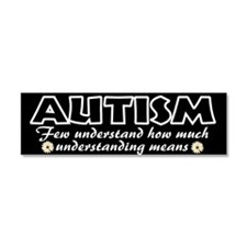 Few understand autism Car Magnet 10 x 3