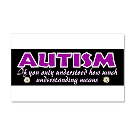 Autism understood Car Magnet 20 x 12