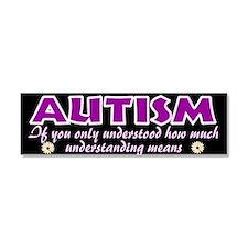Autism understood Car Magnet 10 x 3