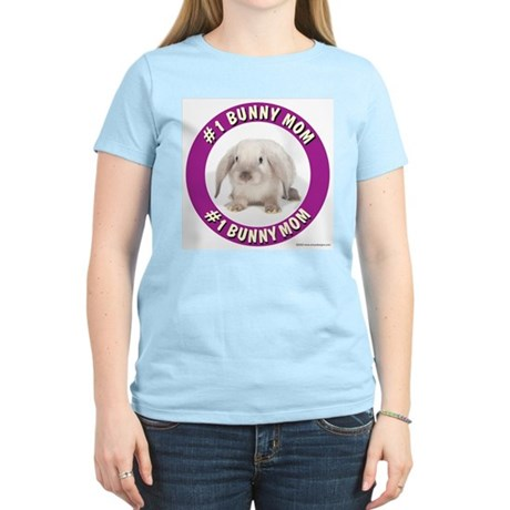 number 1 bunny mom RGB T-Shirt