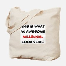 awesome millennial Tote Bag