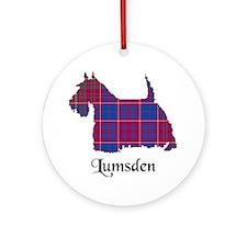 Terrier - Lumsden Ornament (Round)