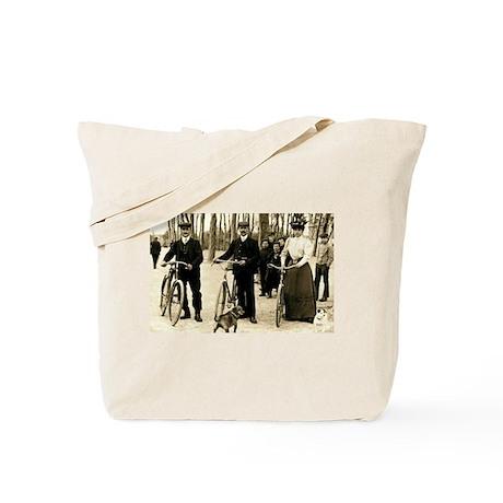 Cycling Trio Tote Bag