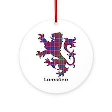 Lion - Lumsden Ornament (Round)