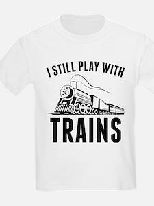 StillPlayTrains1A T-Shirt