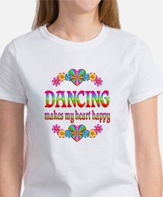 Dancing Happy Women's T-Shirt