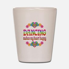 Dancing Happy Shot Glass