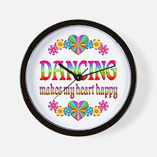 Dancing Happy Wall Clock