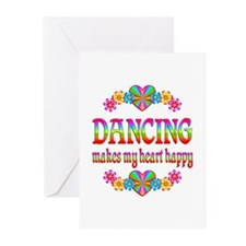 Dancing Happy Greeting Cards (Pk of 20)