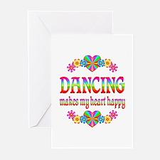 Dancing Happy Greeting Cards (Pk of 20)