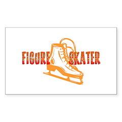 Orange Skate Decal