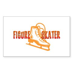 Orange Skate Decal