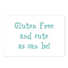 Unique Gluten Postcards (Package of 8)