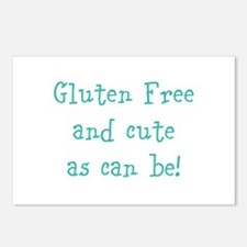 Cute Gluten Postcards (Package of 8)