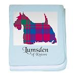 Terrier - Lumsden of Kintore baby blanket