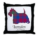 Terrier - Lumsden of Kintore Throw Pillow