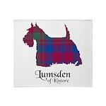 Terrier - Lumsden of Kintore Throw Blanket
