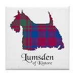 Terrier - Lumsden of Kintore Tile Coaster