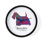 Terrier - Lumsden of Kintore Wall Clock