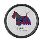 Terrier - Lumsden of Kintore Large Wall Clock