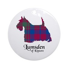 Terrier - Lumsden of Kintore Ornament (Round)