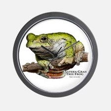 Eastern Gray Tree Frog Wall Clock