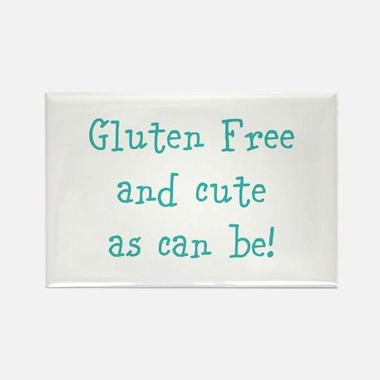 Cute Gluten Rectangle Magnet