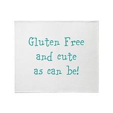 Cute Celiac disease Throw Blanket