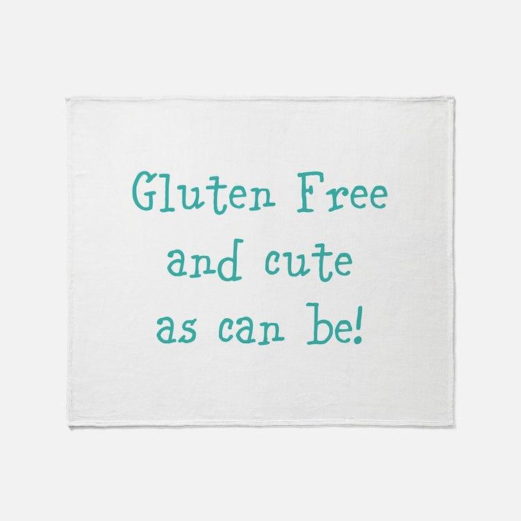 Cute Gluten free Throw Blanket