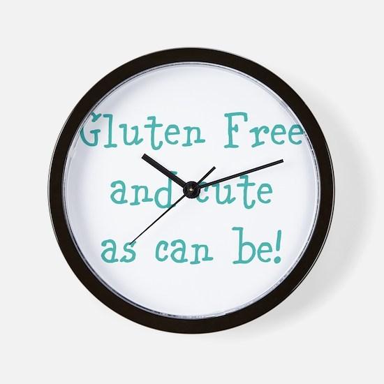 Cute Celiac disease Wall Clock