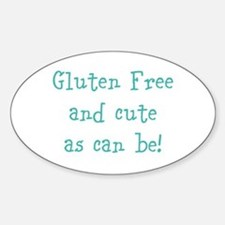 Cute Gluten Decal