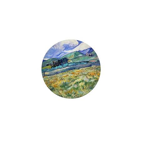 Van Gogh Saint-Remy Mini Button