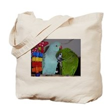 Indian Ringneck and Hahn's Ma Tote Bag