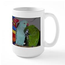 Indian Ringneck and Hahn's Ma Mug
