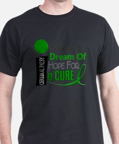 Cute I believe in dream of hope for a cure orange big T-Shirt