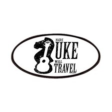 Have Uke Will Travel Patches