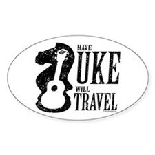 Have Uke Will Travel Decal
