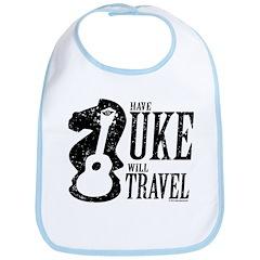 Have Uke Will Travel Bib