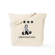 Four Star Mom Tote Bag