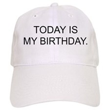 My Birthday Baseball Cap