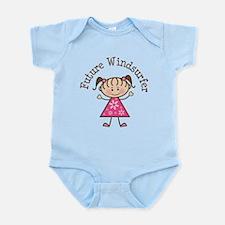 Future Windsurfer Girl Infant Bodysuit